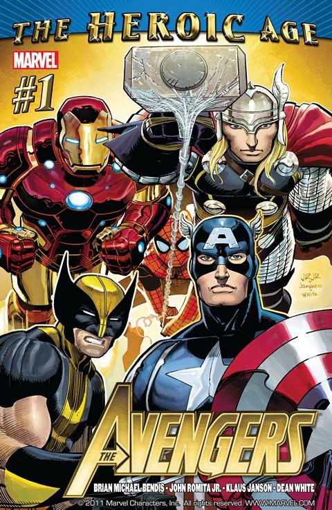 Avengers Vol. 4 #1 – 34 + Annual (2010-2013)