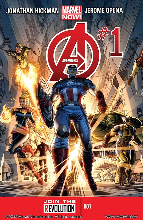 Avengers Volume 5 #1 – 41 Free Download