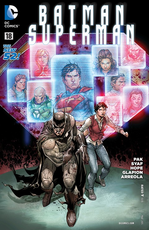 Batman – Superman #016-018 Free Download