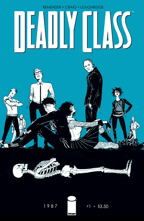 Deadly Class #001 – 011 Free Download