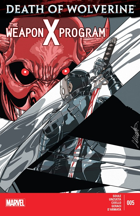 Death of Wolverine – The Weapon X Program #05 Free Download
