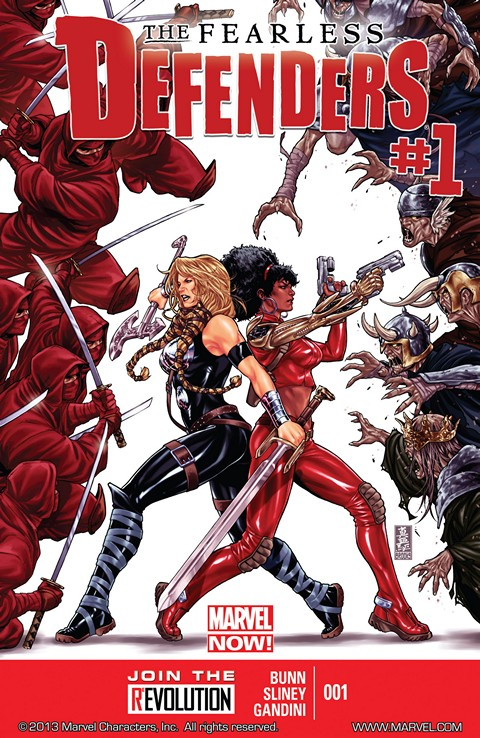 Fearless Defenders #1 – 12 Free Download