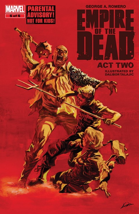 George Romero's Empire Of The Dead Act Two #001-005 Free Download