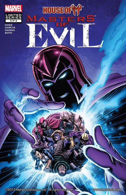 House of M – Masters of Evil #1-4 (2009)