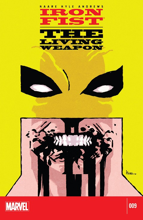 Iron Fist – The Living Weapon #9 Free Download