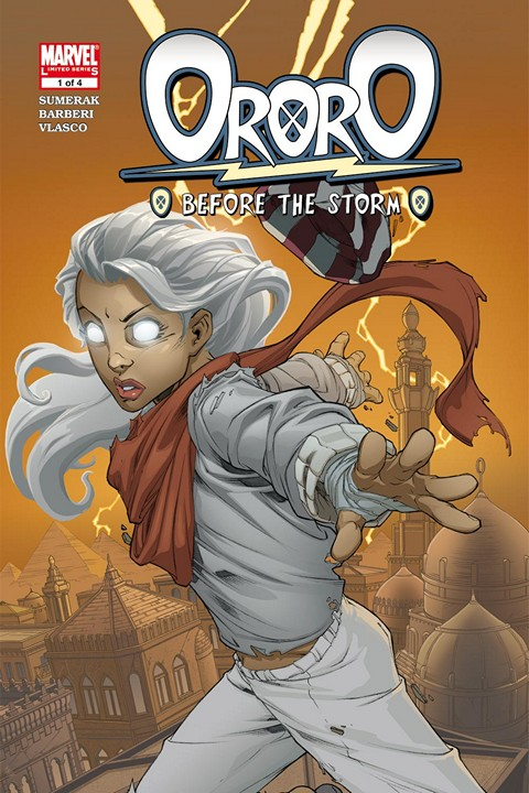 Ororo – Before the Storm #1 – 4 (2005)