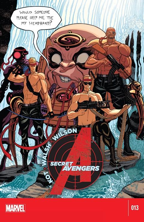 Secret Avengers #13 Free Download