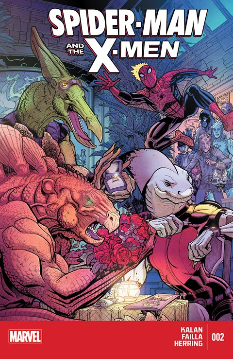 Spider-Man And The X-Men #1 – 2 (2015)