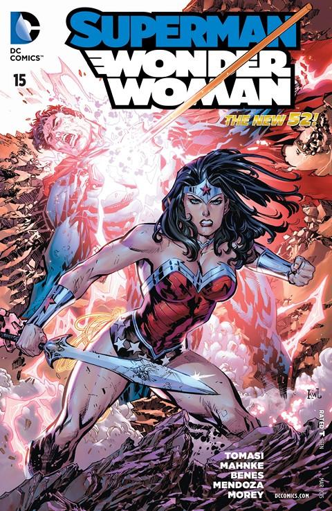 Superman-Wonder Woman #015 Free Download