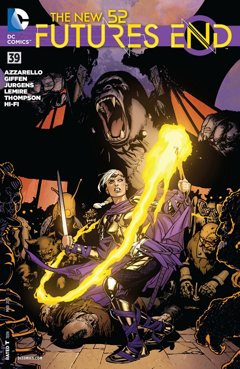 The New 52 – Futures End #039 Free Download