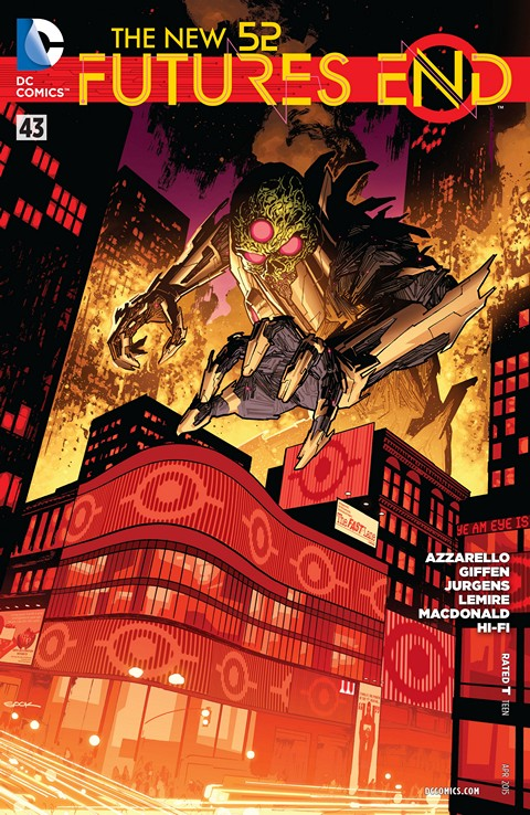 The New 52 – Futures End #43 Free Download