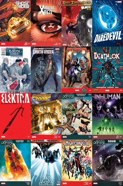 2015.03.25 Marvel NOW+ Free Download