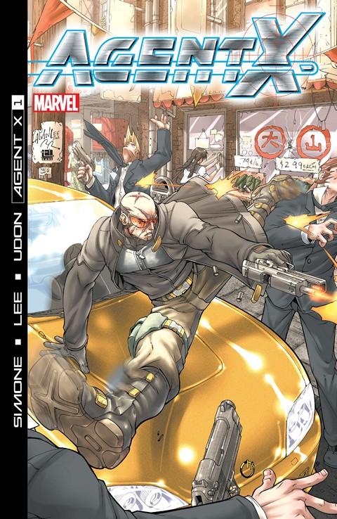 Agent X #1 – 15 (2002-2003)