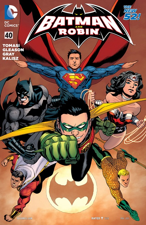 Batman And Robin #40 Free Download