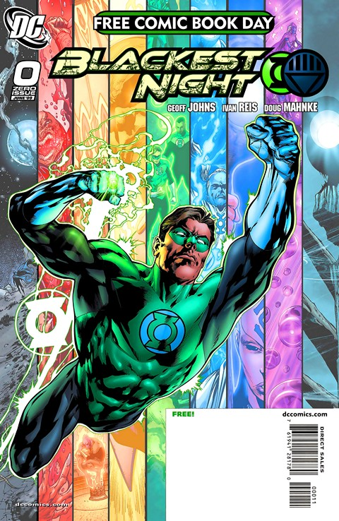 Blackest Night #0 – 8 (2009-2010)