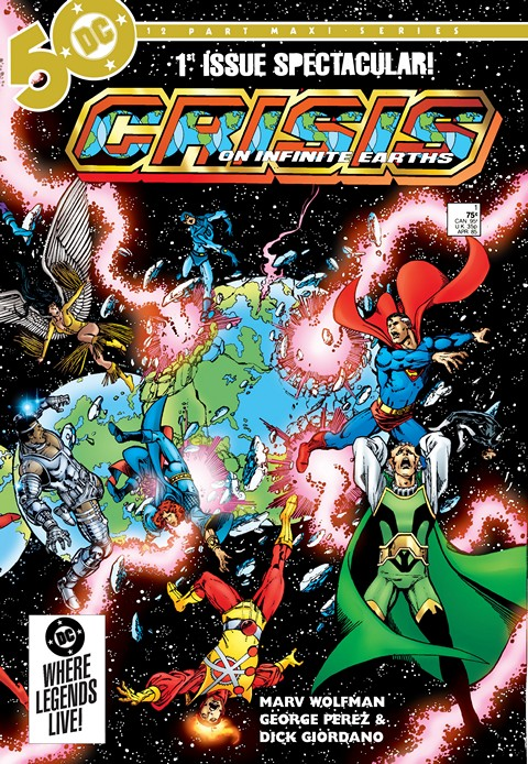 Crisis on Infinite Earths #1 – 12 Free Download