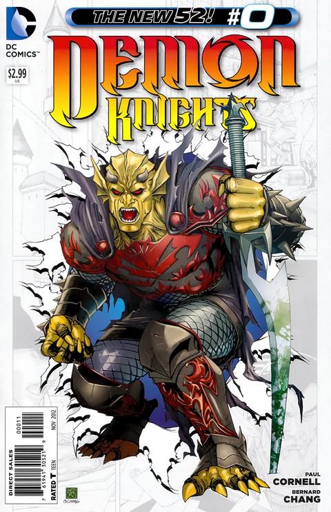Demon Knights #0 – 23 Free Download