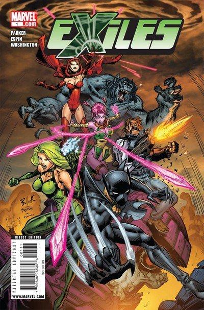 Exiles Vol. 2 #1 – 6 (2009)
