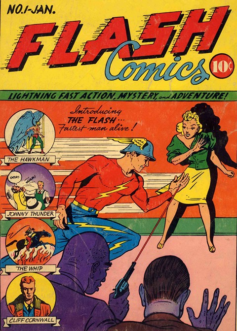 Flash Comics #1 – 104 Free Download