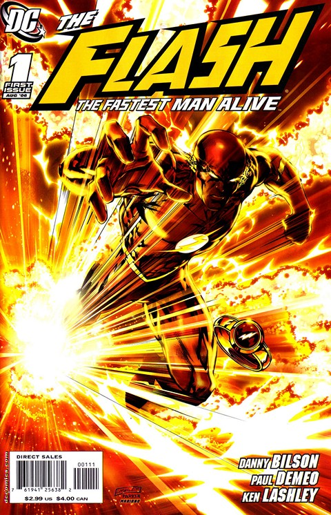 Flash – The Fastest Man Alive #1 – 13 Free Download