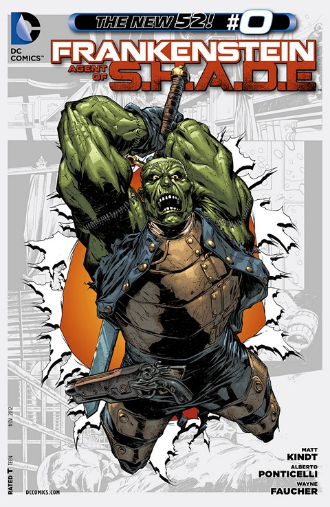 Frankenstein, Agent of S.H.A.D.E. #0 – 16 (2011-2013)