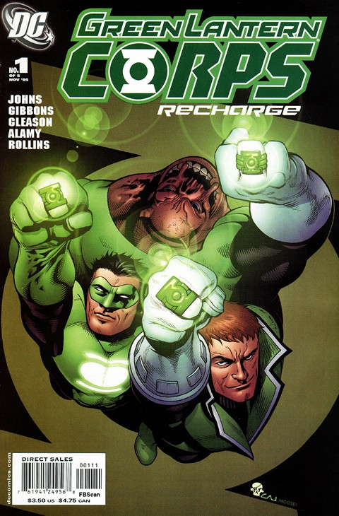 Green Lantern Corps – Recharge #1 – 5 Free Download