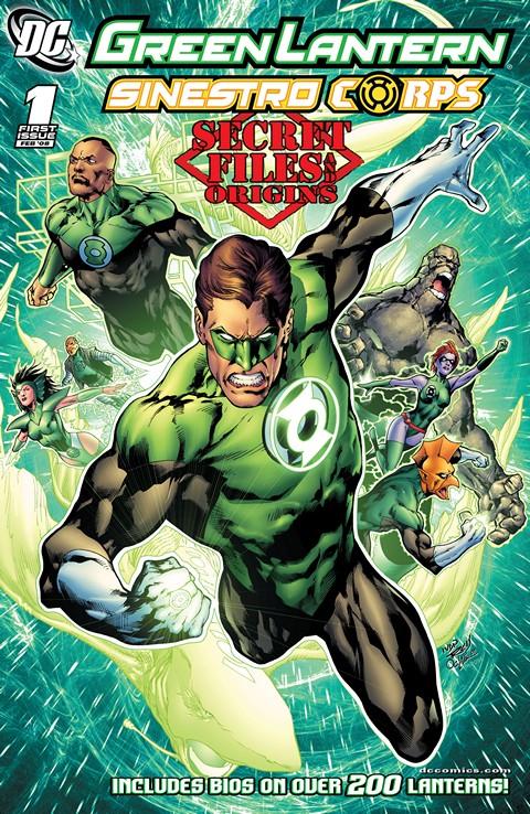 Green Lantern-Sinestro Corps – Secret Files and Origins #1 Free Download