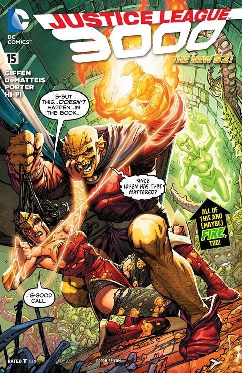 Justice League 3000 #15 Free Download