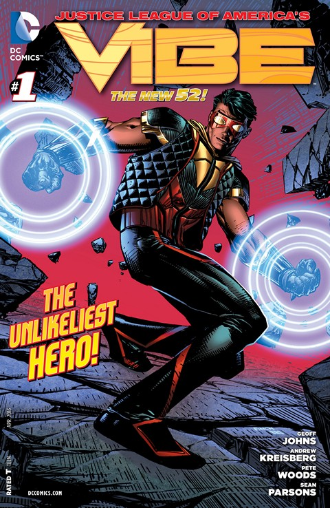 Justice League of America's Vibe #1 – 10 Free Download