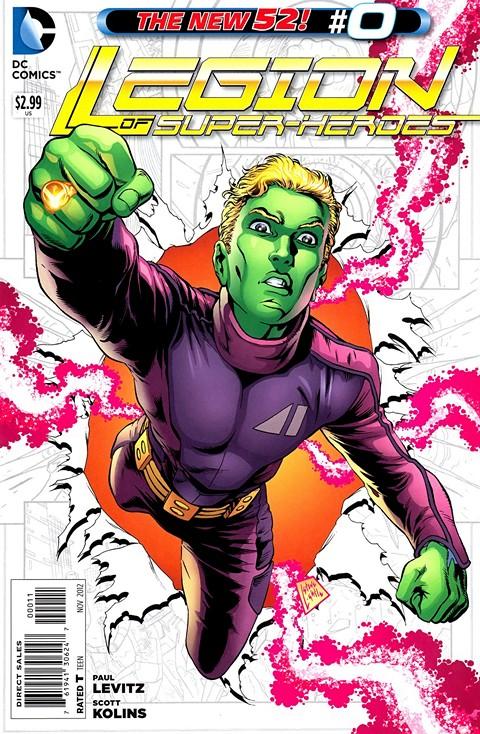 Legion of Super-Heroes #0 – 23 (2011-2013)