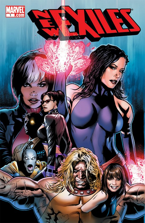 New Exiles #1 – 18 + TPBs (2008-2009)