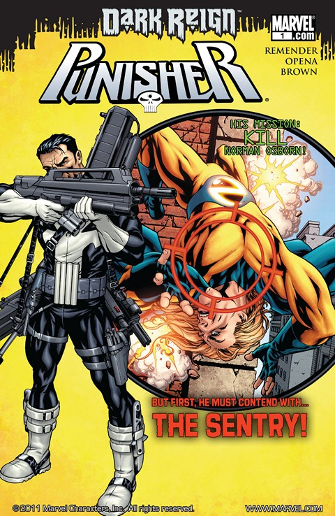 Punisher #1 – 21 + Annual (2009-2010)