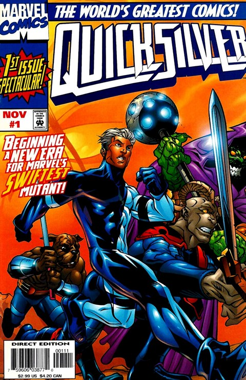 Quicksilver #1 – 13 + Annual Free Download