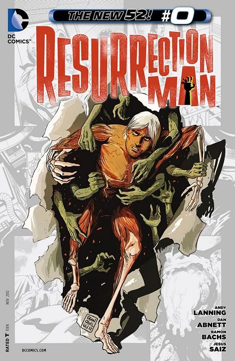 Resurrection Man #0 – 12 Free Download