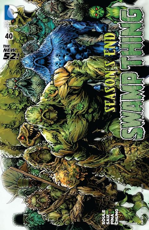 Swamp Thing #40 Free Download