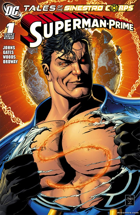 Tales of the Sinestro Corps Presents – Superman Prime Free Download