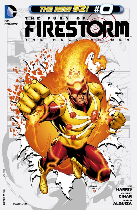 The Fury of Firestorm – The Nuclear Men #0 – 20 Free Download