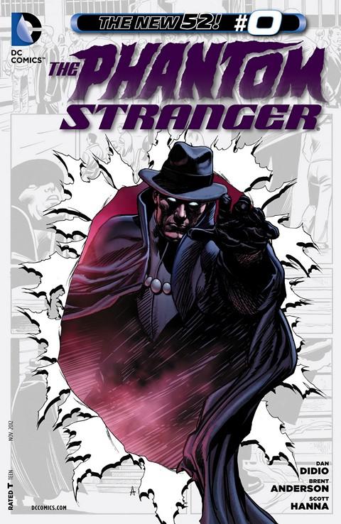 The Phantom Stranger #0 – 22 (2012-2014)