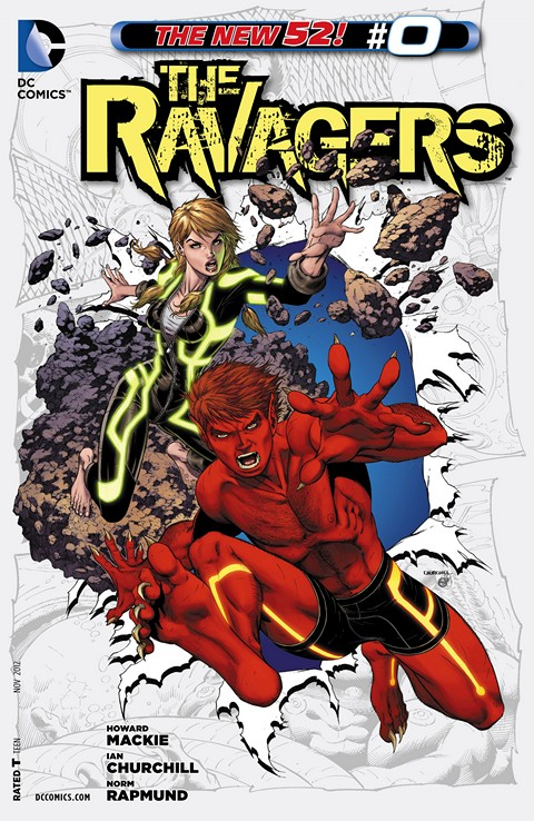 The Ravagers #0 – 12 + TPBs (2012-2013)