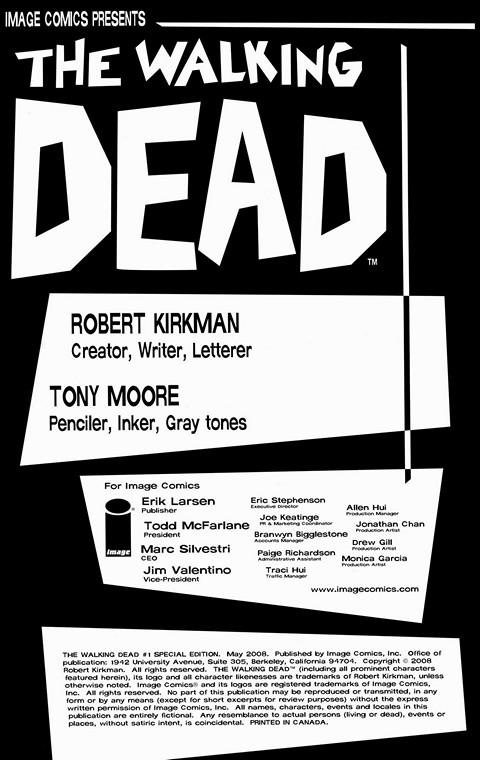 The Walking Dead Comics #1 – 159 + Specials Free Download