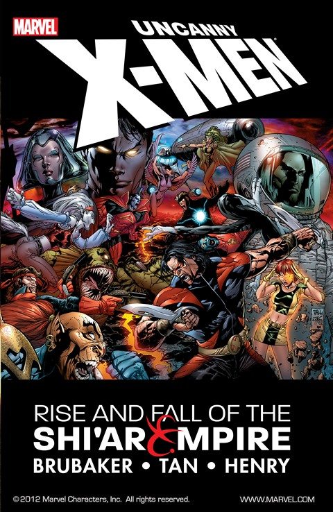 Uncanny X-Men – Rise and Fall of the Shi'ar Empire (2007)