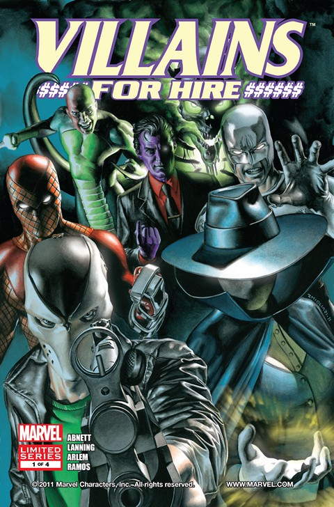 Villains For Hire #1 – 4 Free Download