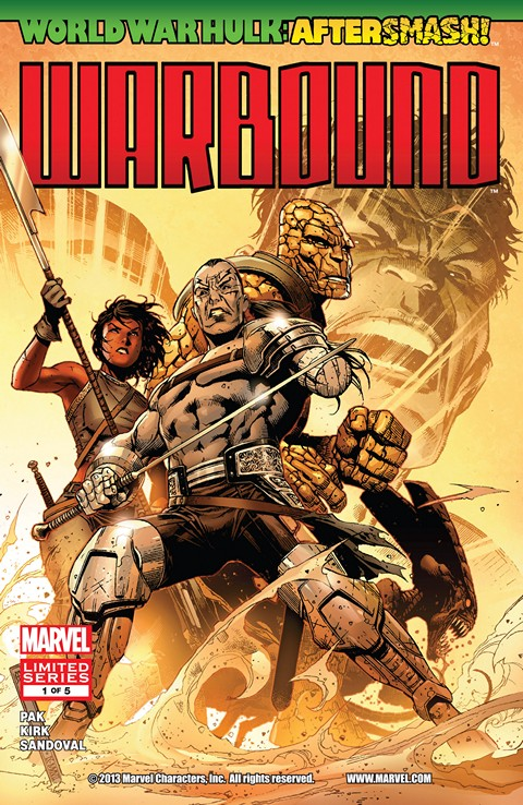 World War Hulk Aftersmash – Warbound #1 – 5 Free Download