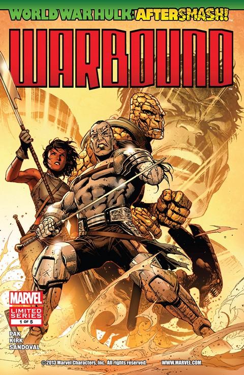 World War Hulk Aftersmash – Warbound #1 – 5 Free Download