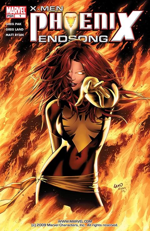 X-Men – Phoenix – Endsong #1 – 5 (2005)