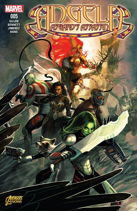 Angela – Asgard's Assassin #5 Free Download