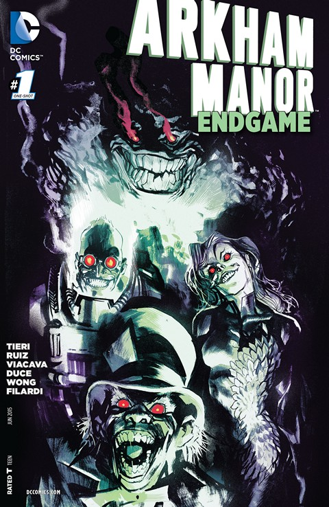 Arkham Manor – Endgame #1 Free Download