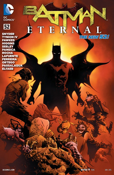 Batman Eternal #52 Free Download