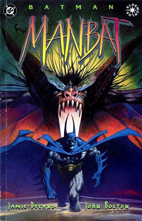 Batman: Manbat #1 – 3