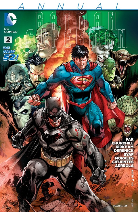 Batman – Superman Annual #2 Free Download